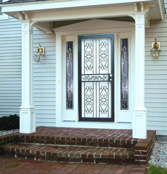 Steel Security Storm Doors Philadelphia Guida Door Amp Window
