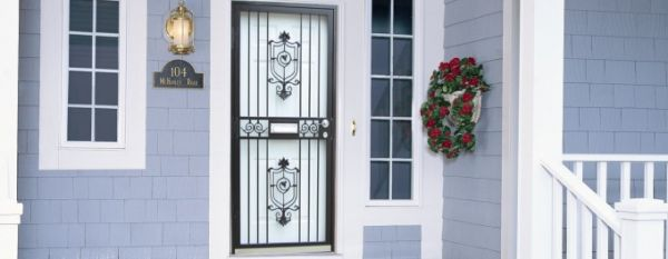 Security Storm Doors Product : Steel security storm doors philadelphia guida door window