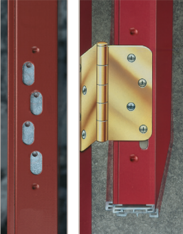 Adjustable Hinge Plate System