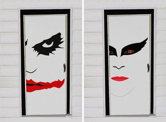 Movie Themes & Guida Door u0026 Window: Blog : 15 Spooky Halloween Door Decorations