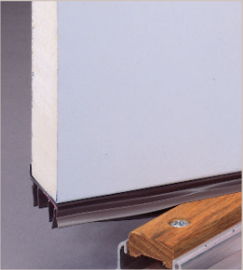 Slide-On Door Sweep
